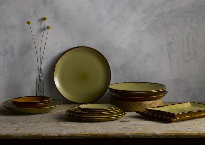 Dudson Harvest Geschirr Teller Schalen und Tassen